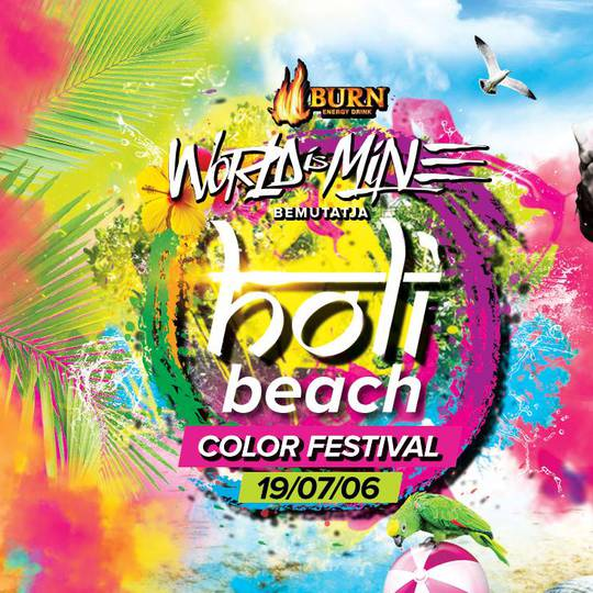 Viviera Beach - Holi Beach 2019 ✪ The Biggest Color Festival
